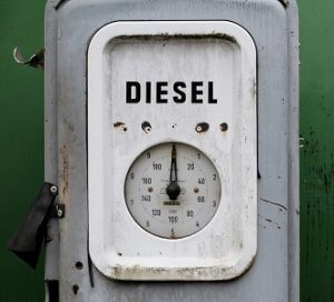 small amount of def in diesel tank