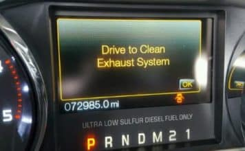 Drive To Clean Exhaust System