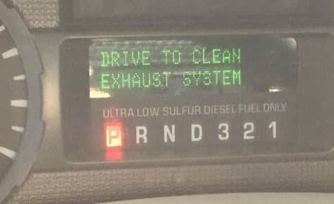 Drive To Clean Exhaust System How Does It Work