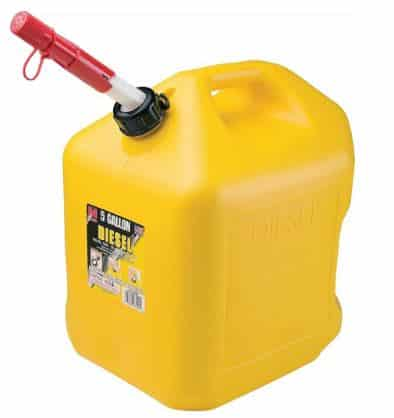 How Much Does a Gallon of Diesel Weigh