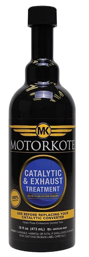 Motorkote Catalytic and Exhaust Treatment