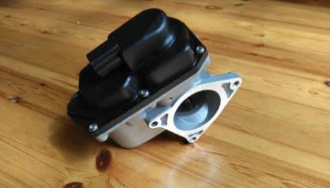 Electronically actuated EGR Valve for VW BMN engine