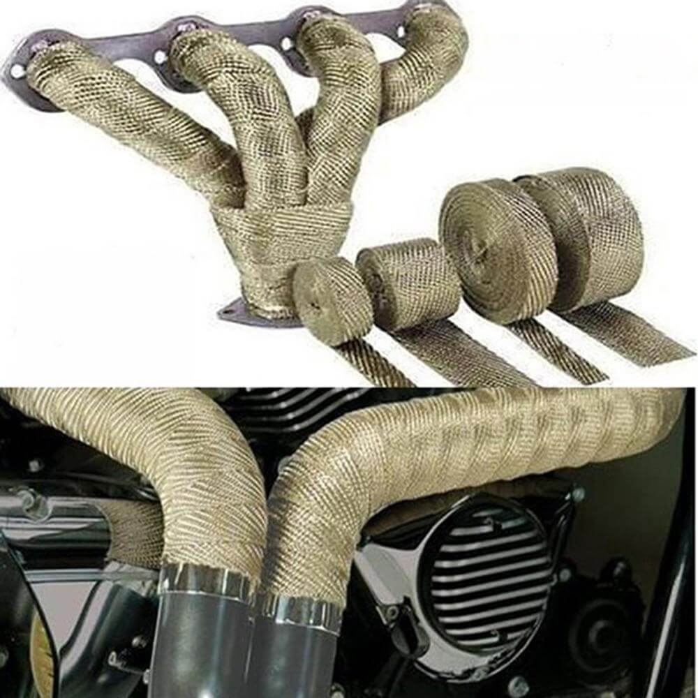 Fiberglass Heat Exhaust Wrap