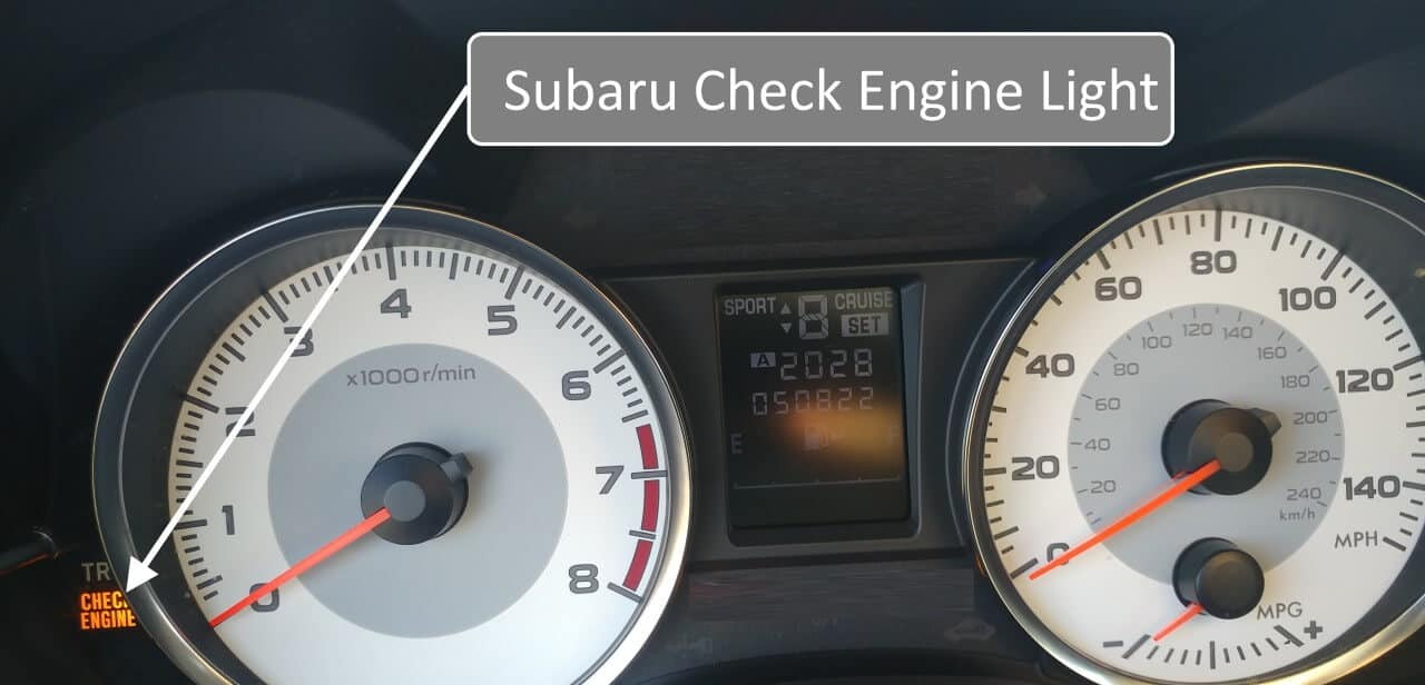 Subaru Engine Codes Explained