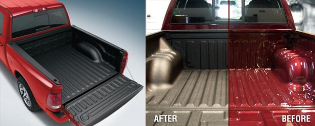 bedliner paid job before and after