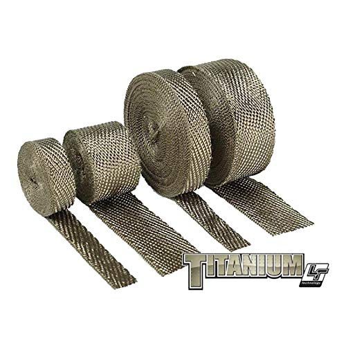Design Engineering 010127 Titanium Exhaust Heat Wrap with LR Technology